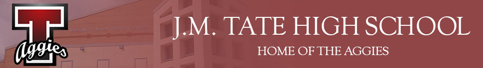 J. M. Tate High School  Logo